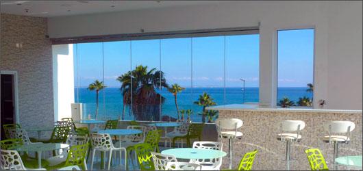 Roof Terrace Achilleos Hotel In Larnaca Cyprus